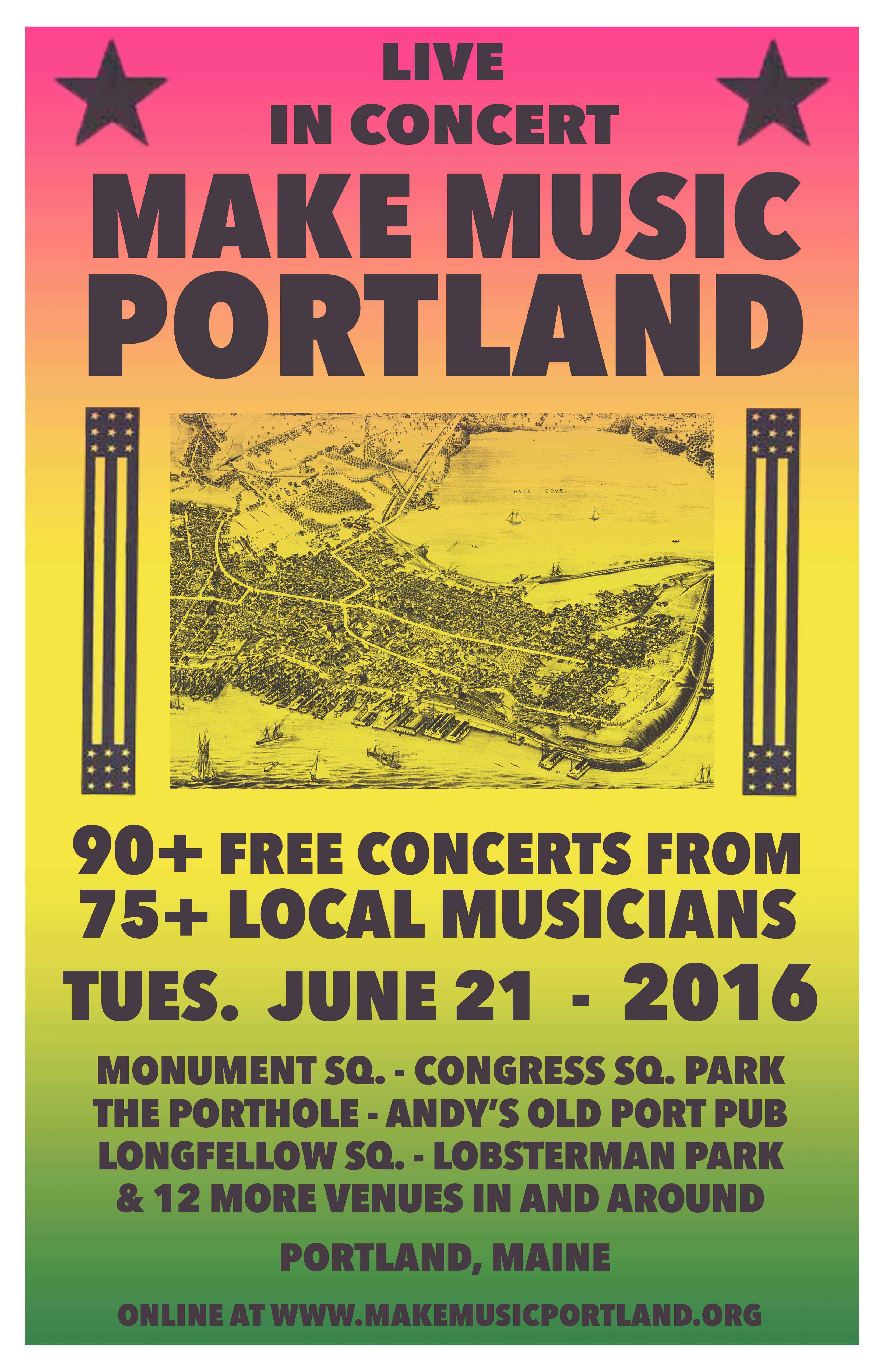 Official posters – Make Music Portland 2019