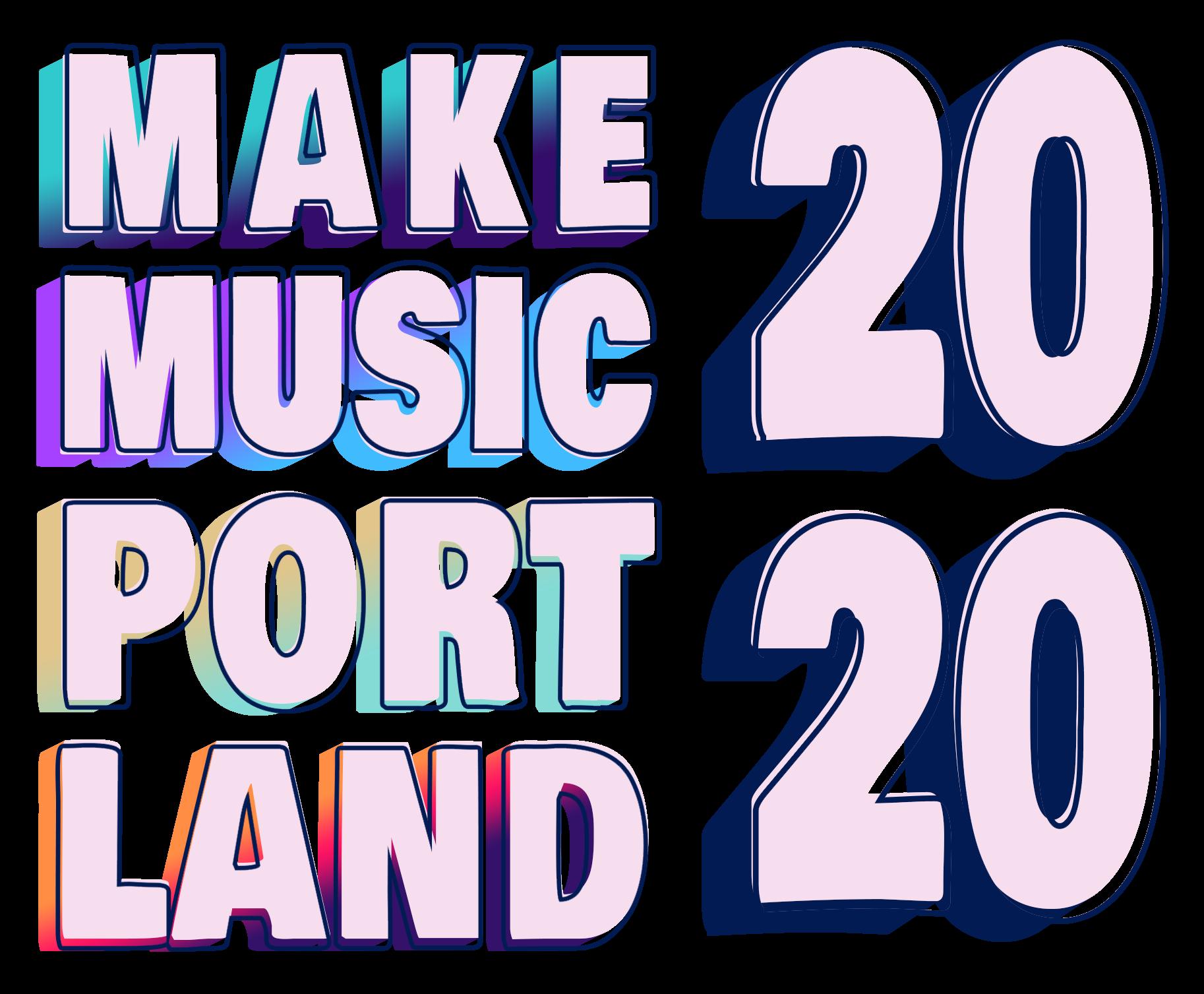 Make Music Portland 2020